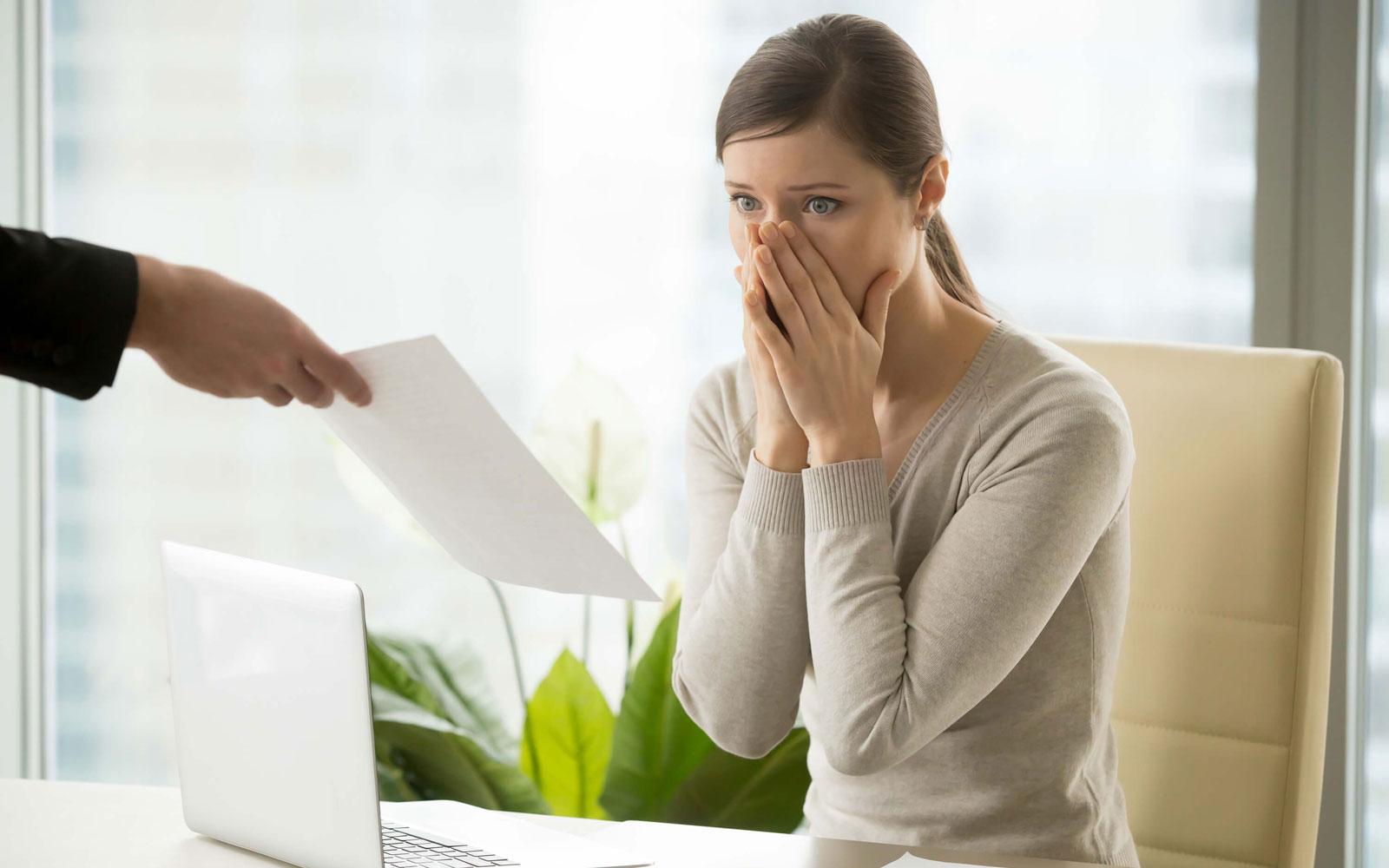 Reclamación de indemnización por despido